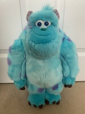 """£10.99 • Buy Disney Pixar Monsters Inc Sully 15"""" Large Plush Soft Toy - Excellent Condition"""