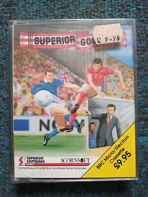 £5.75 • Buy Superior Soccer Cassette Tape By Superior Software  BBC Micro & Acorn Electron