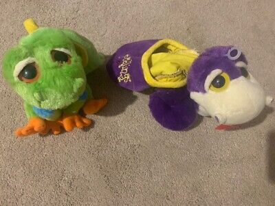 £19.99 • Buy Brand New Rare Keel Podlings - Whirl Snake Purple And Bud Frog Green