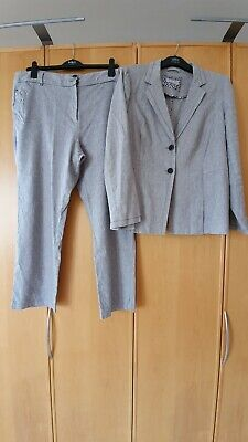 £12.50 • Buy Marks And Spencer Per Una Linen Suit