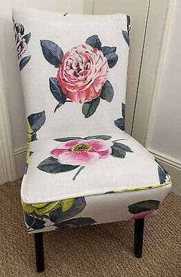 £171 • Buy Mid Century Cocktail Chair - Designers Guild 'Pavonia' Fabric