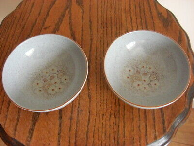 £15 • Buy 2 X DENBY REFLECTIONS 6    FRUIT BOWLS,mint Condition