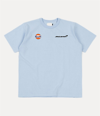 £14.99 • Buy Mclaren Gulf Inspired T-Shirt Formula One 4/3 Racing Sky Blue  F1 *FREE DELIVERY