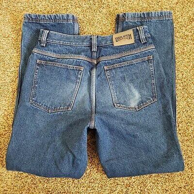 $19.99 • Buy DULUTH TRADING Mens Jeans 32 X 32 Straight Leg Flannel Lined