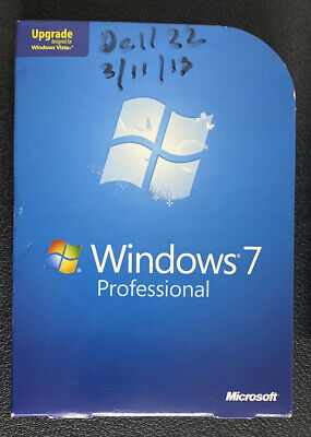 £35.64 • Buy Windows 7 Professional Upgrade FQC-00130 32 And 64 Bit With Product Key Code