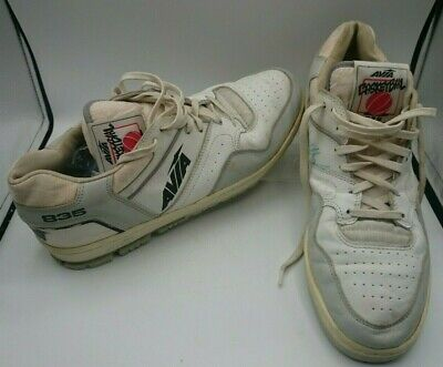 £86.26 • Buy AVIA BASKETBALL 835 Sneakers Shoes, Phil Hubbard Signed Game Used 1980's Sz 14