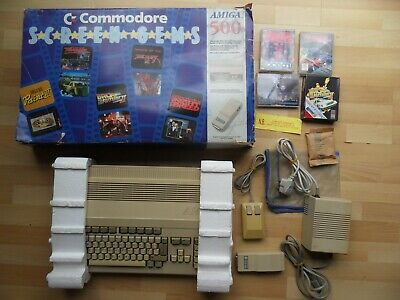 £214.99 • Buy Boxed & Fully Working, Good Condition Computer - SCREEN GEMS COMMODORE AMIGA 500