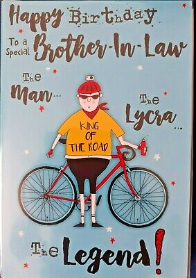£2.99 • Buy  For A Special Brother-in-Law Birthday Card. Large Card 9  X 6