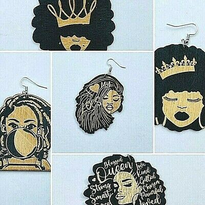 £3.29 • Buy Afrocentric Engraved Ethnic Fashion Earrings (II) - 5 Options