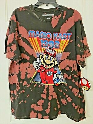 £10.76 • Buy Mario Kart 1992 Tie Dye T-Shirt Men's Size Large New With Tags 2021