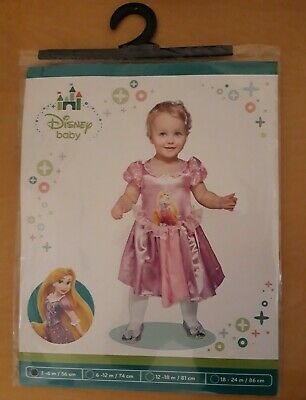 £8.98 • Buy Baby Toddler Disney Rapunzel Princess Dress Costume Outfit 3 / 6 Months New