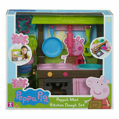 £21.99 • Buy Peppa Pig Peppa's Mud Kitchen Dough Set With Moulds And Accessories Brand New