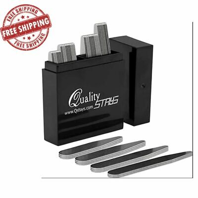 $10.89 • Buy 40 Metal Collar Stays - 4 Sizes In A Box For Men Dress Shirts Clothing New
