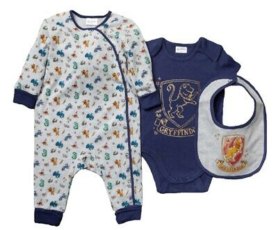 £15.95 • Buy Baby Boy Girl Harry Potter Outfit Layette Clothing Set Official Romper Bib Vest