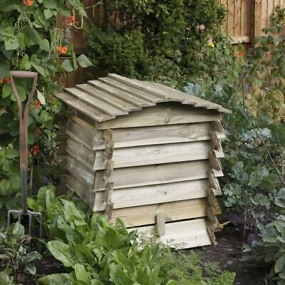 £155.89 • Buy Rowlinson Garden Beehive Wooden Composter Bin Natural Timber *H84 X W74 X D74cm*