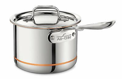 $ CDN201.40 • Buy All-Clad 6202 SS 2-QT Copper Core 5-Ply Bonded Dishwasher Safe Sauce Pan