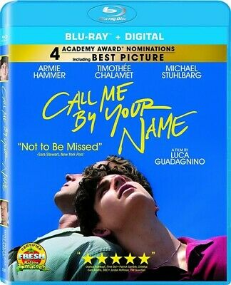 AU6.66 • Buy Call Me By Your Name (Blu-ray Disc, 2018) - NEW!!