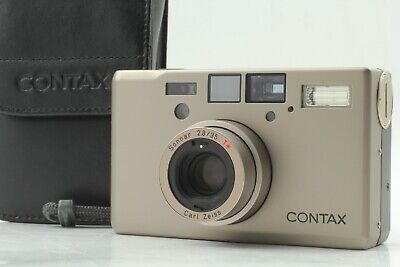 $ CDN2643.46 • Buy 【TOP MINT In Case】 Contax T3D Double Teeth Point & Shoot Camera From Japan #1141