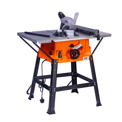 £179.95 • Buy New DJM 10  Bench Table Saw 1800W C/w Stand & Side Extensions 240v Blade 250mm