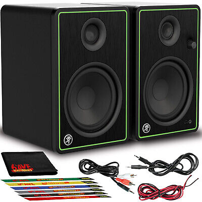 $199.99 • Buy Mackie CR5-X Creative Reference Series 5  Multimedia Monitors With Cable Ties