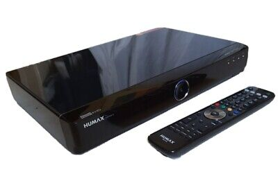£109.95 • Buy HUMAX HDR-FOX T2 1TB Freeview HD HDMI Digital TV Recorder + Remote FULLY WORKING