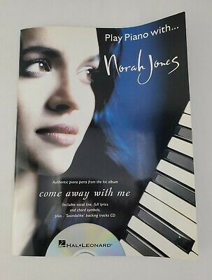 £9.82 • Buy Play Piano With Nora Jones Come Away With Me Songbook With CD