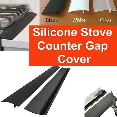 AU15.79 • Buy Silicone Kitchen Stove Counter Gap Cover Oven Guard Spill Protector Filler Strip