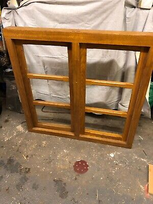 £50 • Buy Oak Window Heavy Construction With New Double Glazed Units And Beads.