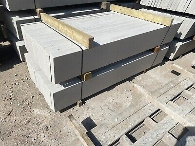 £13.20 • Buy 6x1 - Reinforced Plain/ Smooth Concrete Gravel Boards / Base Panels - New