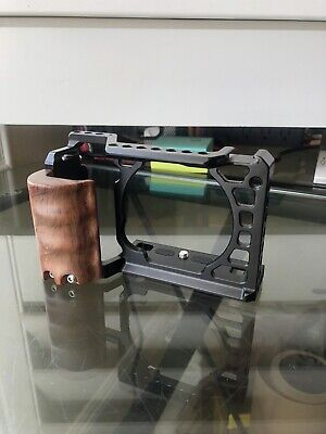 $ CDN44.05 • Buy SmallRig A6500 Camera Cage With Wooden Handgrip For Sony A500 Form Fitting  2097