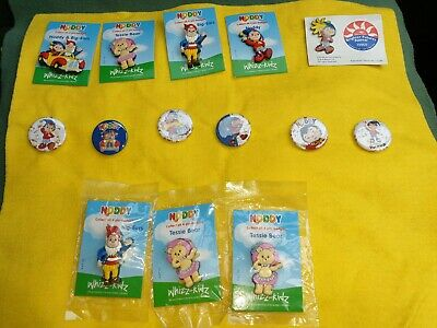 £3.57 • Buy Collection Of 14 Noddy Pin Badges And Tin Badges