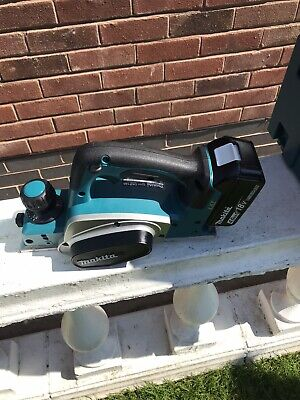 £161 • Buy Makita 18v DKP Planer New In Box With Charger 1 X4ah Battery And Dust Bag