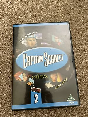 £3.09 • Buy Captain Scarlet And The Mysterons - Vol. 2 - Episodes 7 To 12 (DVD, 2001)