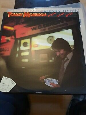 £5.50 • Buy Tommy Morrison 12  Vinyl Album Place Your Bets 1979 Real Records Label