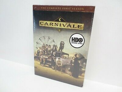 £14.62 • Buy NEW Carnivale - The Complete First Season (DVD, 2004, 6-Disc Set)