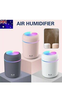 AU16.99 • Buy 300ML Electric Air Diffuser Aroma Oil Humidifier Night Light Up Difuser Home Car