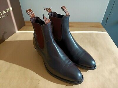 AU295 • Buy RM Williams 8G Yearling Boots Chestnut