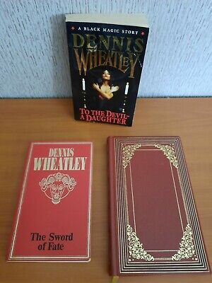 £3.50 • Buy 3 Dennis Wheatley Books Lot Inc. To The Devil A Daughter & Forbidden Territory