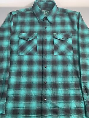 """$220 • Buy Dixxon Flannel """"Lucky"""" Size Large"""