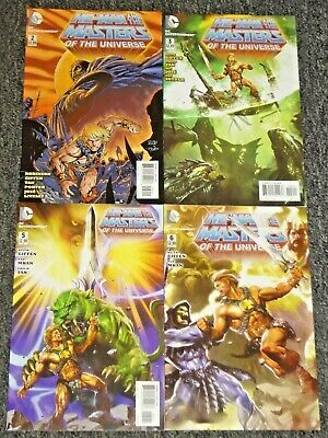 $34.95 • Buy 2012 Dc Comics He-man And The Masters Of The Universe 2 3 5 6 Motu Vf/nm Netflix