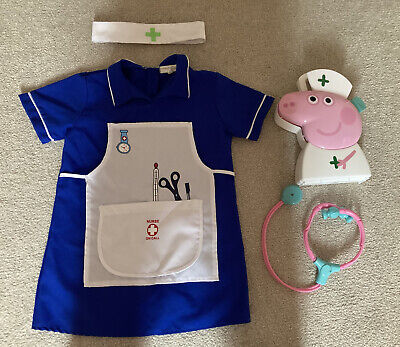£9 • Buy Childrens Peppa Pig Doctors Set And Nurses Outfit