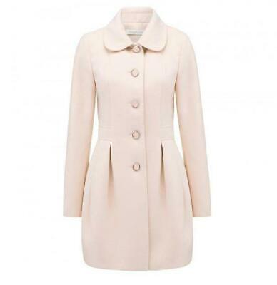AU45 • Buy FOREVER NEW Blush Pink Double Breasted Coat Size 10 Worn A Few Times