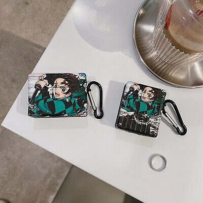 $ CDN13.31 • Buy Demon Slayer Kamado Tanjirou For Apple AirPods Accessories Shockproof Case Cover