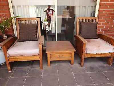 AU250 • Buy Outdoor Solid Timber Patio Setting