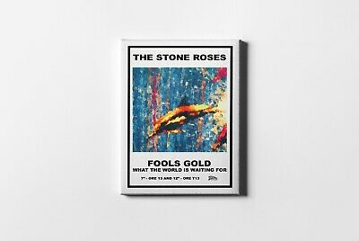 £24.97 • Buy Fools Gold The Stone Roses Framed Canvas Print