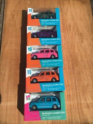 £10 • Buy Olympic Games London 2012 Diecast Corgi X 5 Toy Taxi's - New & Boxed