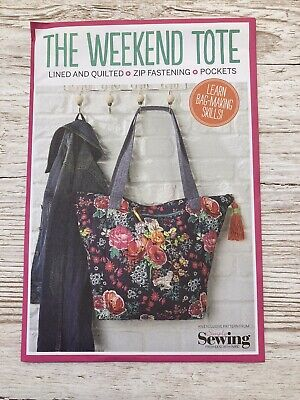£3.20 • Buy Simply Sewing The Weekend Tote Sewing Pattern New And Unopened