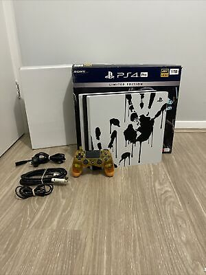 AU459 • Buy Limited Edition Sony Playstation 4 Pro Ps4 Pro 1tb Death Stranding Edition