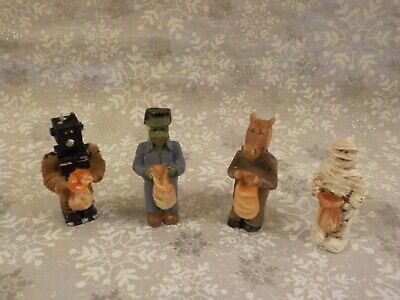 $ CDN20.31 • Buy Vintage Bisque Halloween Trick Or Treaters Children  Lot  Of 4 - Pre-owned