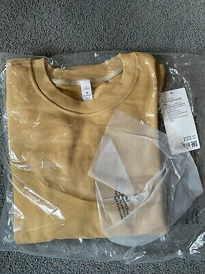 AU47 • Buy Lululemon Perfectly Oversized Crew Gold Buff Colour Size CAN 8/ AUS 12 BNWT